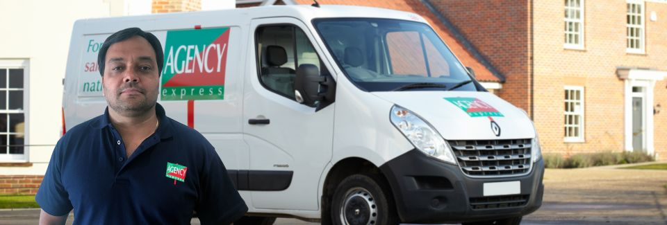 agency express Bertrand-London-North-West with van