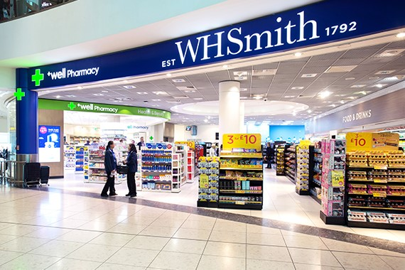 whsmith store front