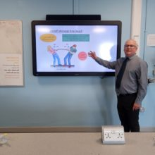Jamie Curley used his expereince as an Army Cadet Force volunteer to become a teacher